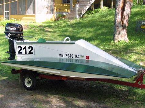 mini boat racing racing powerboat plans the dillon mini tunnel