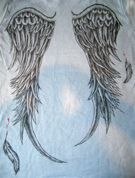 tattoo feather wings 17 best images about tattoos angel wings on pinterest