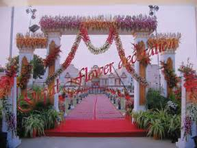 Flower Decoration by Gate Ajmer Flower Decoration