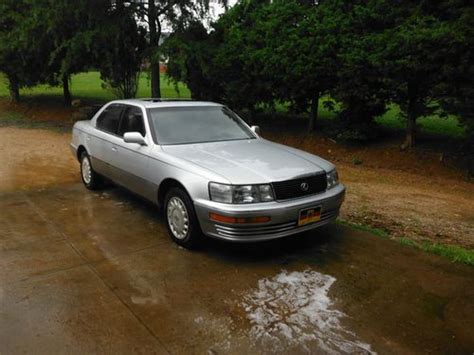 auto air conditioning repair 1990 lexus ls auto manual buy used 1991 lexus 400 ls in dobson north carolina united states