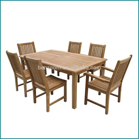 Square Dining Table Set Outdoor Garden Teak Wood Square Dining Table And Hairs Set Buy Outdoor Garden Dining Set
