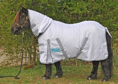 cheap fly rugs for horses white combo fly rug shetland sizes maxima equestrian quality pony shetland rugs