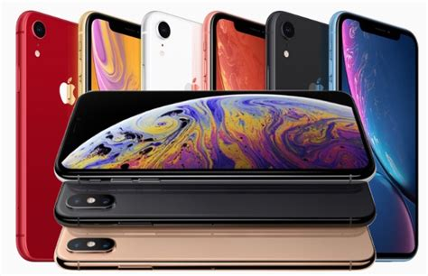iphone xs iphone xs max iphone xr apple 4 released