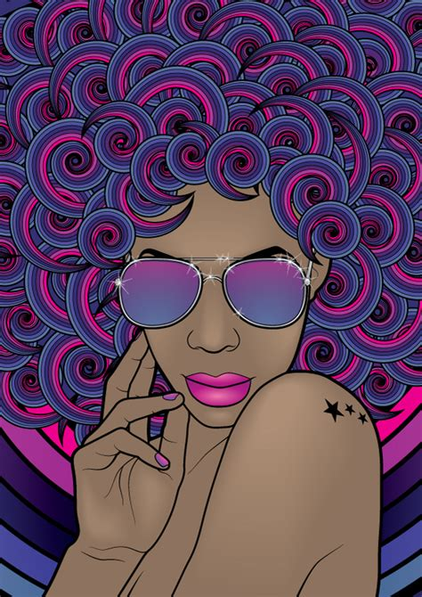 vector line art tutorial illustrator create a psychedelic funky line art portrait