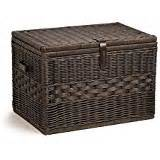 Wicker Trunk Coffee Table Brown Wicker Storage Trunk Coffee Table Kitchen Dining
