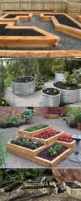 raised bed garden ideas outdoors home pinterest
