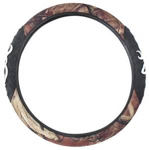 Steering Wheel Covers Browning Browning Steering Wheel Cover Molded Rubber Camouflage