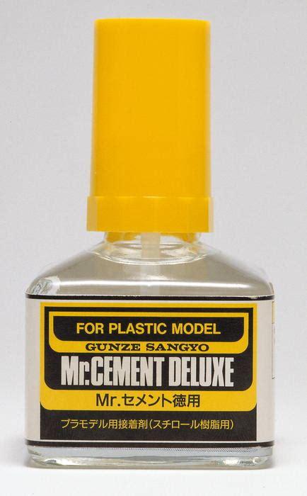 Mr Cement Deluxe Mr Cement S mr cement deluxe lepidlo na plast 40ml e shop eduard