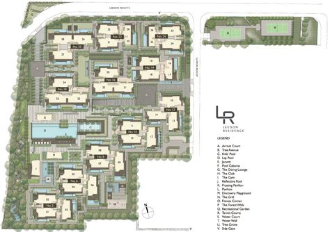 floor plan website site plan leedon residence