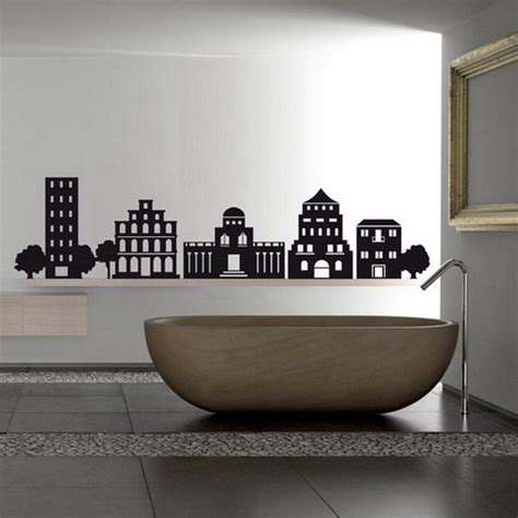 creative wall stickers creative wall stickers idea for decorating your bathroom home design interiors