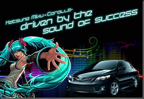the arbalest project hatsune miku drives the new 2011