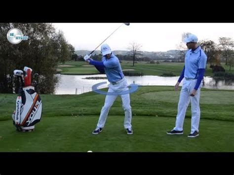 golf swing downswing golf downswing drill for better transition youtube