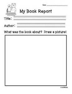 kindergarten book review template book report forms for primary grades