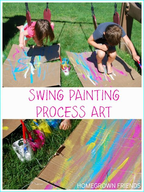 swing craft swing painting process art homegrown friends