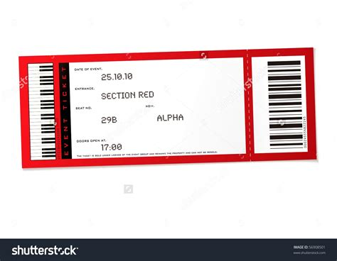 Blank Concert Ticket Template Mughals Blank Ticket Template