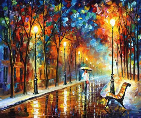popular artwork old dream palette knife oil painting on canvas by leonid