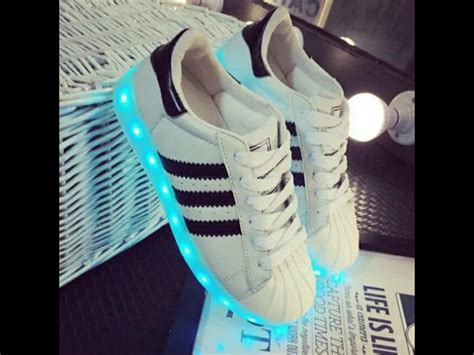 led adidas superstar shoes unboxing  giveway youtube