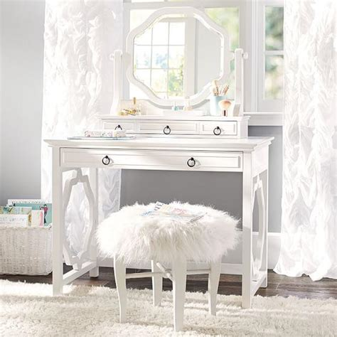 girls vanities for bedroom elsie classic vanity desk