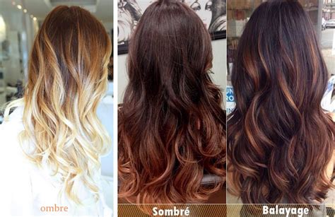 the difference between foiling balayage ombre and the sombre vs ombre newhairstylesformen2014 com