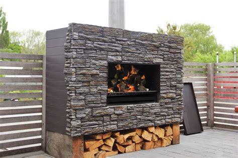escea outdoor fireplaces australian gas log fire melbourne