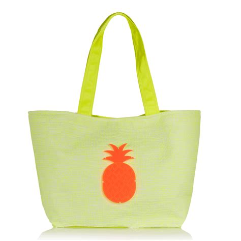 Tas Totebag Tas Fashion Tote bag at you fashion pineapple bag ananas tas koku ioli appliqu 233 d neon canvas tote bag at you