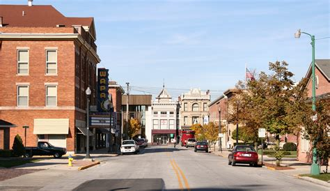 Auglaize County Records File Wapakoneta Ohio Downtown Jpg