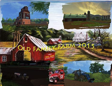 game family farm mod old family farm map fs15 v1 0 farming simulator