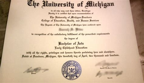Of Michigan Dearborn Mba Diploma by Diploma And Transcripts Novelty Works Degrees