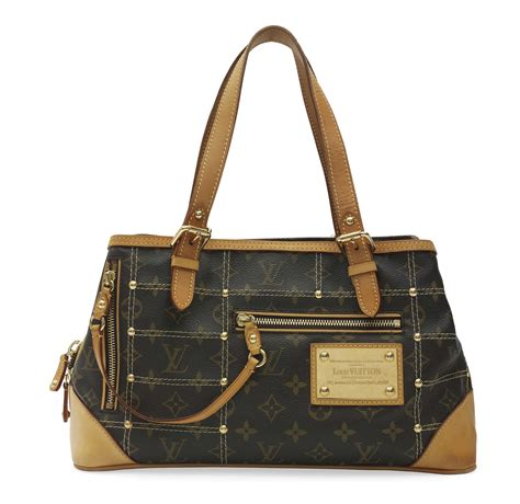 The Limited Edition De Couture Handbag by A Limited Edition Monogram Canvas Riveting Bag Louis