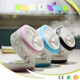 Lynx Portable Mini Fan And Humidifier Kipas Angin Usb D Murah kipas angin usb portable spray humidifier wy f4 blue jakartanotebook