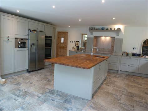 kitchen island worktop mornington shaker kitchen fitted in stevenage
