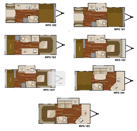 mpg travel trailer floor plans heartland mpg travel trailer floorplans large picture