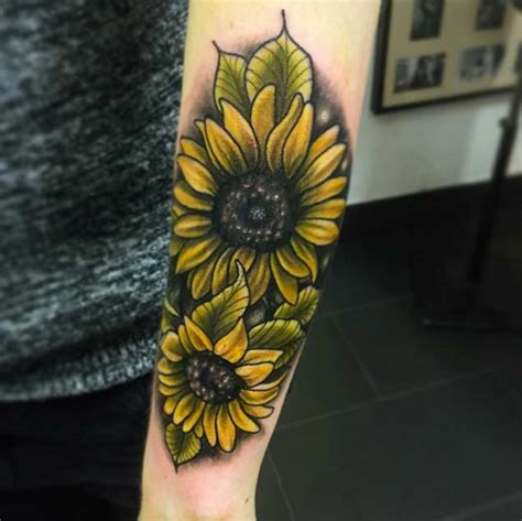 realistic sunflower tattoo designs 55 realistic sunflower tattoos