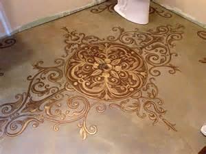 Decorative Floor Painting Ideas Amazing Painted Concrete Floors Ideas For Floor Restoration Homedees