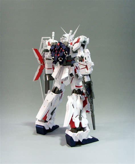 Unicorn Gundam Papercraft - rx 0 unicorn gundam papercraft by rarra