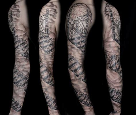 staircase tattoo the world s catalog of ideas