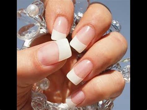 imagenes de uñas sin acrilico ponte u 241 as sin acrilico y sin gel youtube