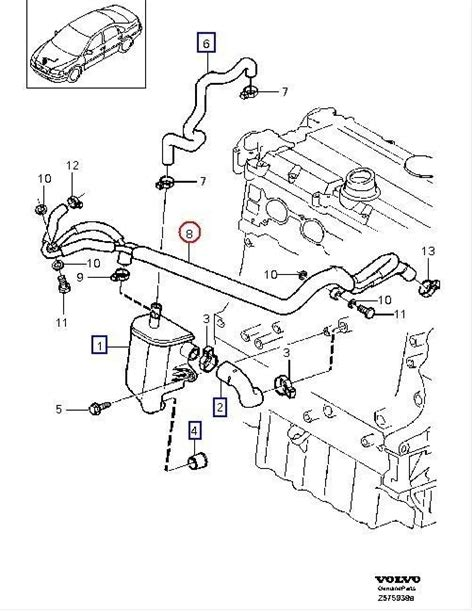 1998 volvo s70 engine diagram auto repair guide images