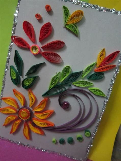 Handmade Eid Cards For - handmade eid greeting card 13 quilling