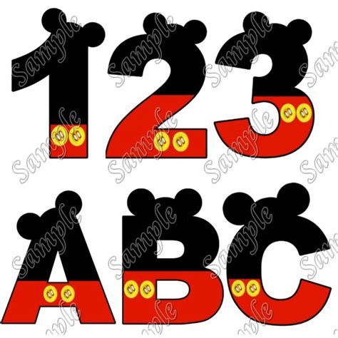 free printable iron on alphabet letters printable letter from mickey mouse pictures to pin on