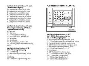 подключение к штатной магнитоле rcd 300 сабвуфера форум