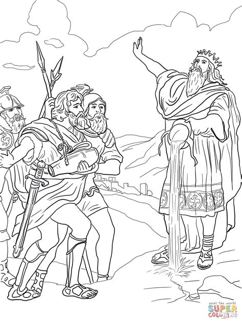 David Coloring Pages