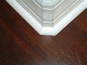 installing quarter round moldings