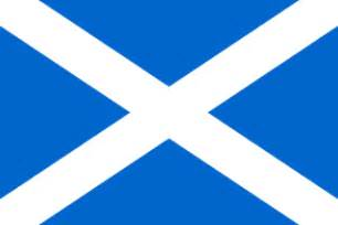 scottish colors colour and design of the scottish flag