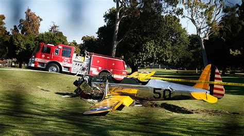 harrison ford plane crash actor harrison ford seriously injured in plane crash rt usa