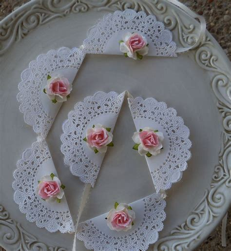 Shabby Chic Birthday Decorations by Best 25 Paper Doily Crafts Ideas On Paper