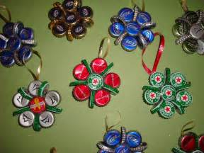bottle cap christmas ornaments 171 the yule log 365