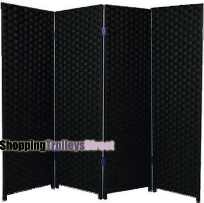 Plastic Room Divider Screen by Wicker Handwoven 4 Part Panel Partition Room Divider