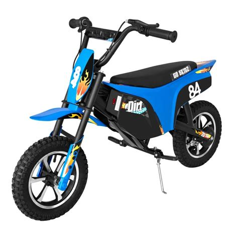 electric dirt bikes go skitz electric dirt bike 2 5 blue