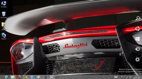 Lamborghini Theme Song Lamborghini Aventador J Theme For Windows 7 And 8 Ouo Themes